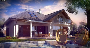 Gotowy projekt domu Z275