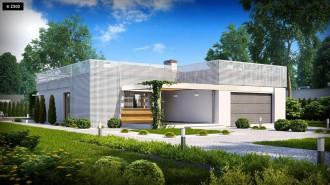 Gotowy projekt domu Zx100 v1