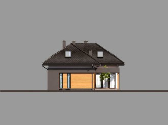 Gotowy projekt domu HomeKoncept 15
