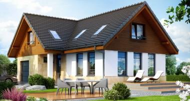 Gotowy projekt domu - Dom w mango ver.2