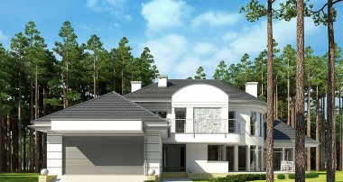 Gotowy projekt domu LK&1012