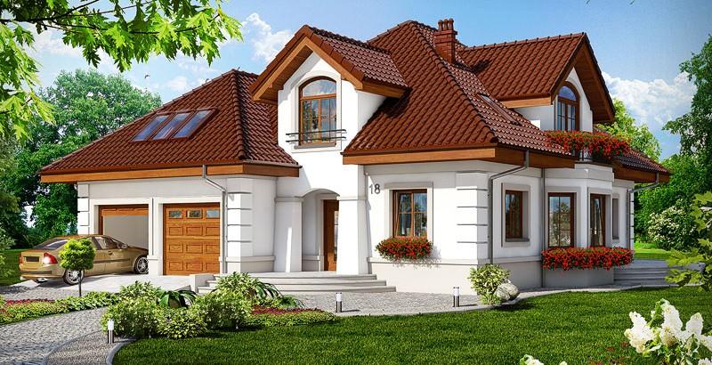 Projekt domu – Dom w bergamotkach (G2) ver. 2