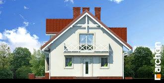 Gotowy projekt domu - Dom w rododendronach (P) ver.2