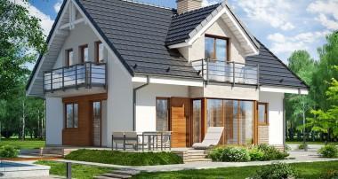 Gotowy projekt domu  - Dom w rododendronach 5 (WPN)