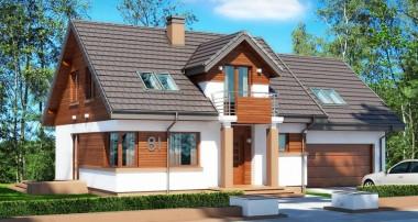 Projekt domu Koralgol II N 2G