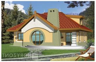 Gotowy projekt domu BILBO wersja B – z ścianką kolankową