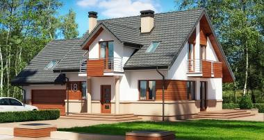 Gotowy projekt domu Puchatek N 2G