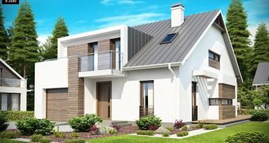 Projekt domu Z116