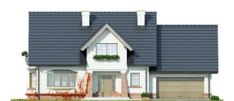 Gotowy projekt domu Dobry II