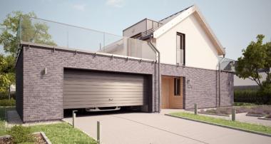 Projekt domu - Dom Antracytowy G2