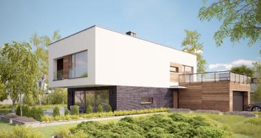 Projekt domu - DOM KOBALTOWY G2