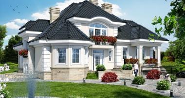 Projekt domu Rezydencja w Myślenicach 2 (P)