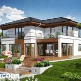 Projekt domu Willa Weronika 3 ver.2