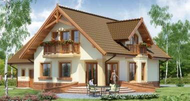 Projekt domu Gracjan