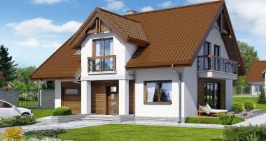 Projekt domu – Dom w asparagusach (PN) ver.2