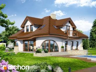 Gotowy projekt domu – Dom w zefirantach (P)