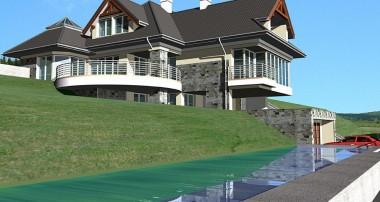 Gotowy projekt domu LK&581