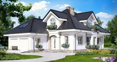 Gotowy projekt domu – Dom w kokosach ver.2