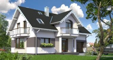 Gotowy projekt domu Dymsza