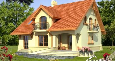 Gotowy projekt domu Kaliope