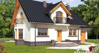 Gotowy projekt domu Ambrozja I