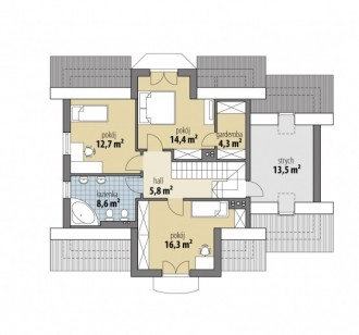 Gotowy projekt domu Fobos