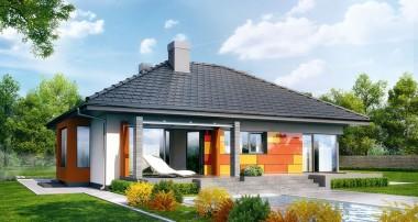 Projekt domu – Dom pod jarząbem (PN) ver.2
