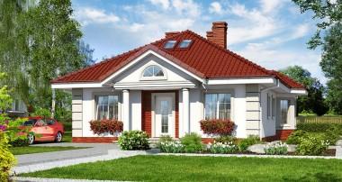 Gotowy projekt domu – Dom nad stawem
