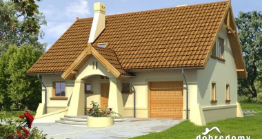 Gotowy projekt domu Portos