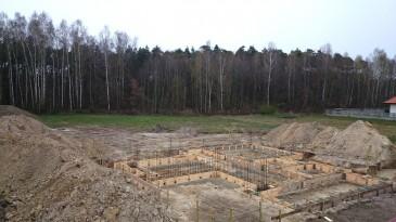 ławy fundamentowe żelbetowe/ realizacja projektu LK&903