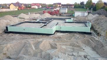 realizacja projektu LK&903 fundamenty