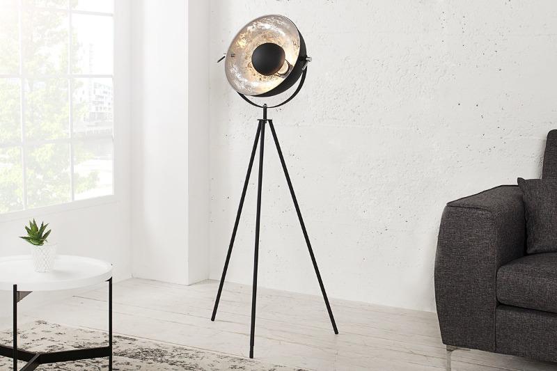 lampa-podlogowa-renoxe-140cm-czarno-srebrna