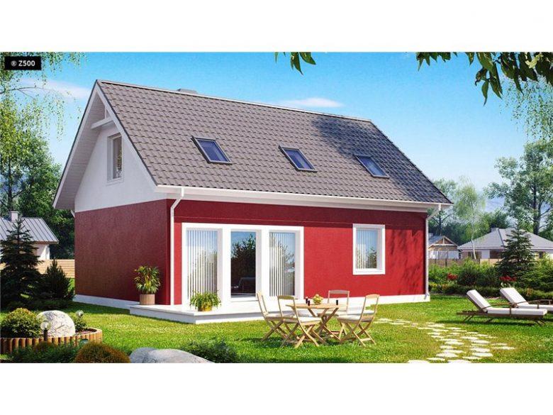 projekt domu z34
