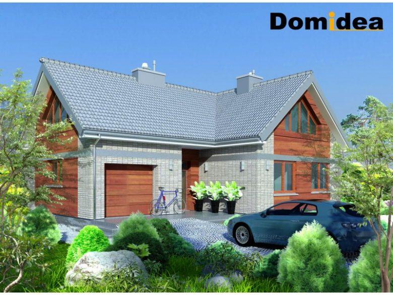 projekt domu domidea 53