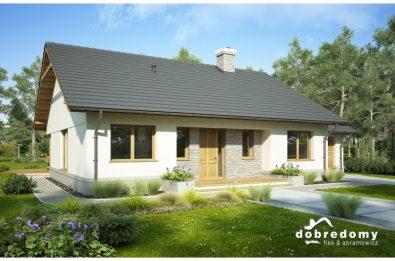 gotowy projekt domu Justynian Mały II