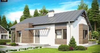 projekt domu z93